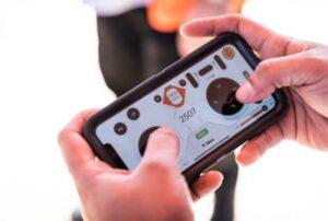 el smartphone en las bobcat